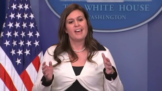 Trump Cabinet, concealed, carry White House Press Secretary Sarah Huckabee Sanders