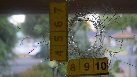 washington teen home intruder bullet hole
