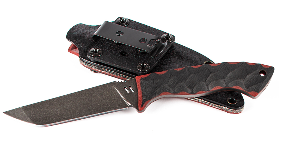 Zev-Winkler Knife sheath angle