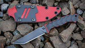 Zev-Winkler Knife with sheath