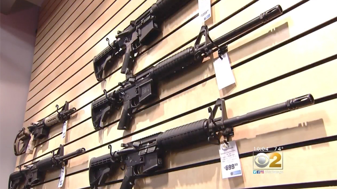 Pete King signs Assault Weapons Ban