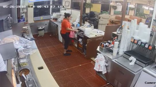 fast-food drive-thru customer shooting