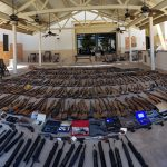 la sheriff guns seized