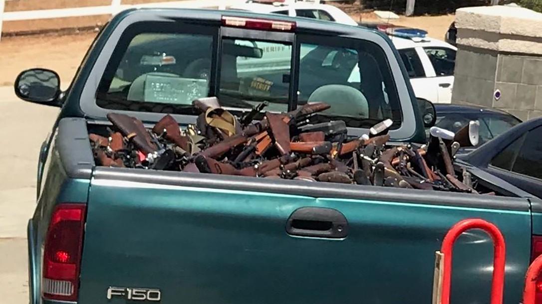 la sheriff rifles truck