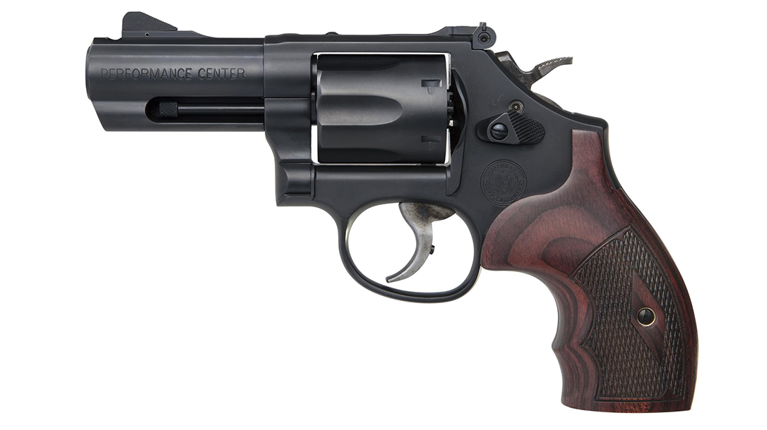 Smith & Wesson Performance Center Model 19 Carry Comp Revolver left