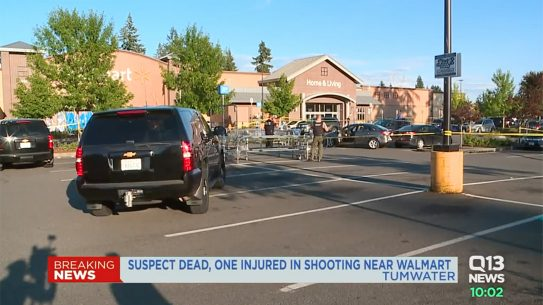 walmart shooting tumwater washington