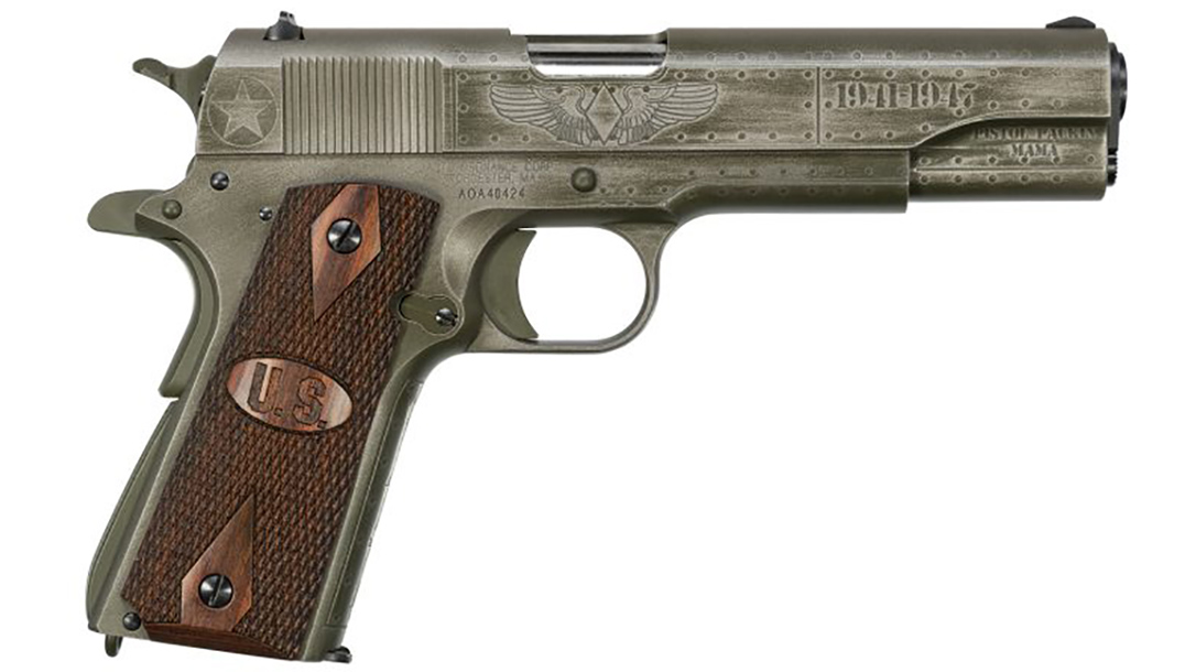 auto-ordnance fly girls 1911 pistol right profile