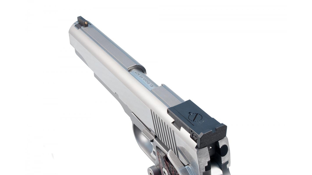 Ed Brown Classic Custom 1911 pistol slide top