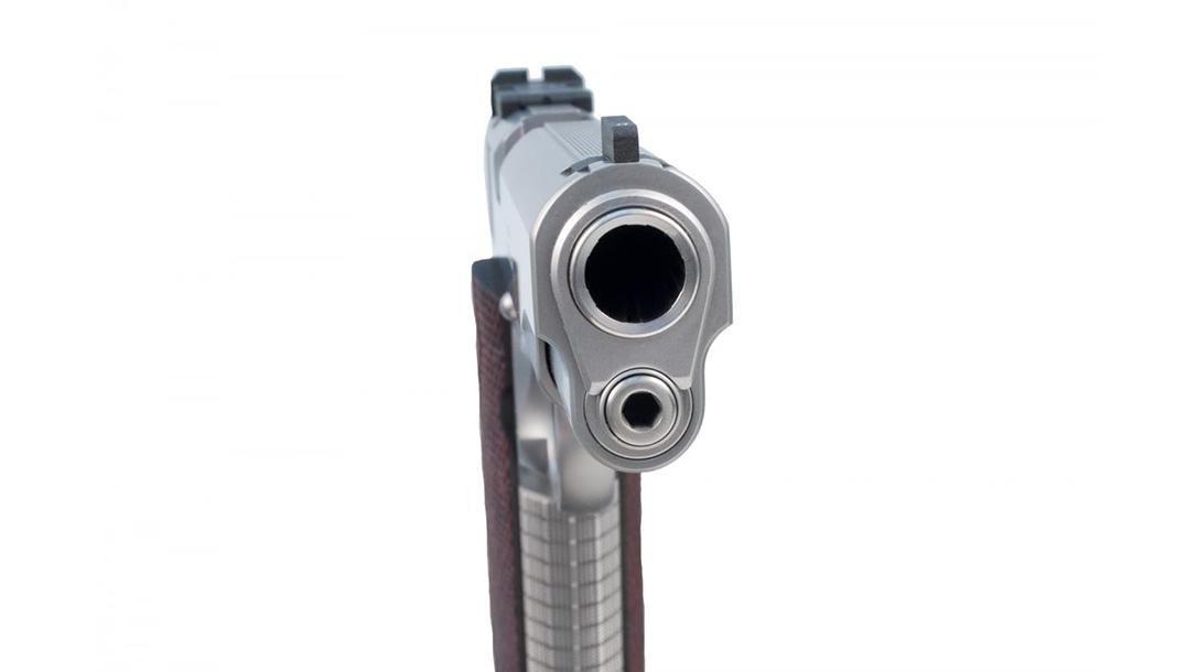 Ed Brown Classic Custom 1911 pistol muzzle