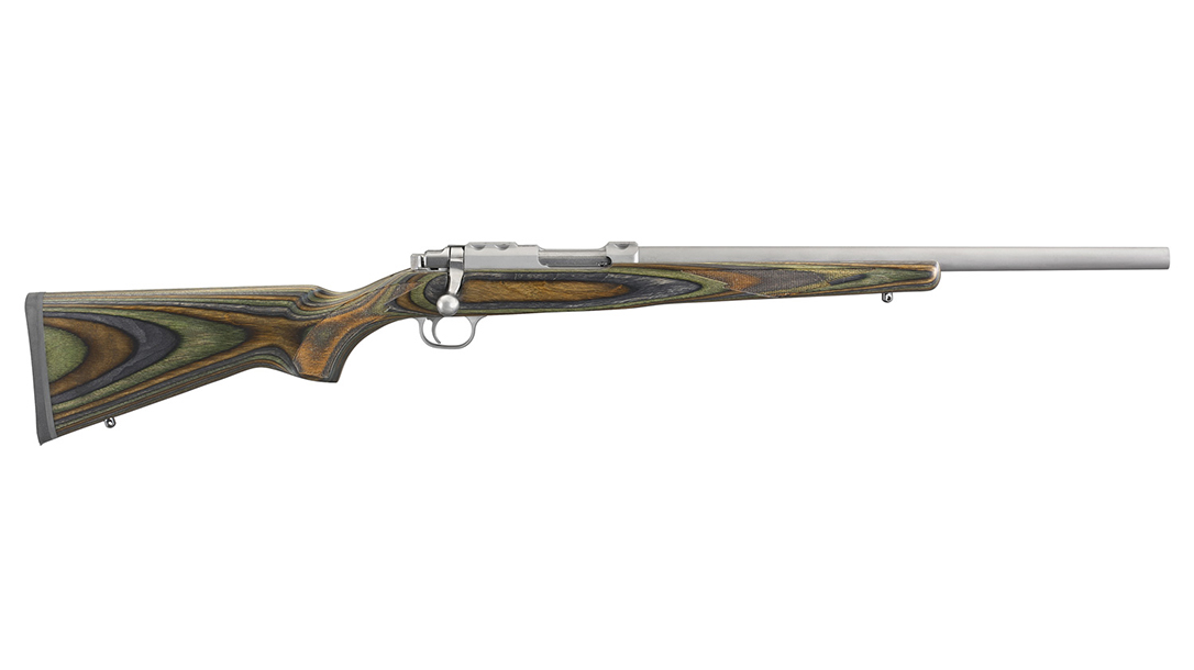 Ruger 77/17 rifle right profile