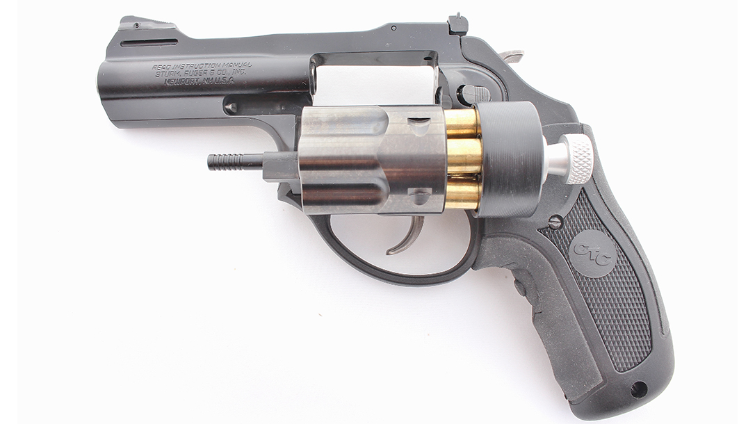 ruger lcrx revolver cylinder