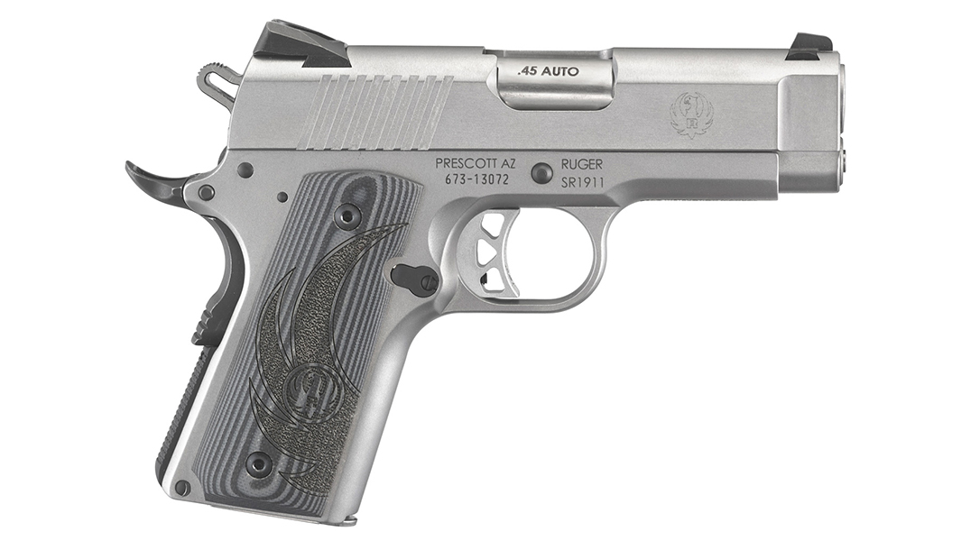 Ruger SR1911 officer pistol right profile