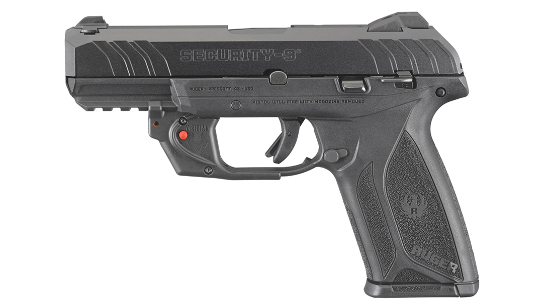 Ruger security-9 pistol left profile
