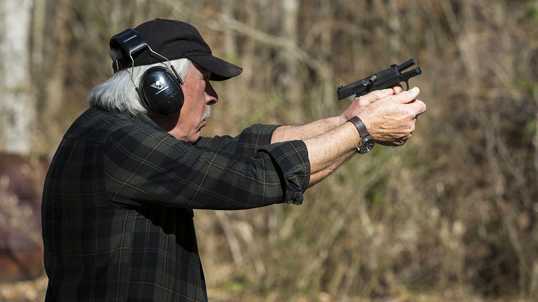 sig p365 pistol recoil