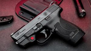 smith wesson M&P45 Shield M2.0 pistol red laser beauty