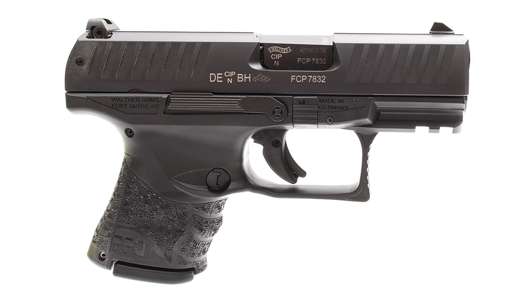 sig p365 walther ppq sc pistol right profile