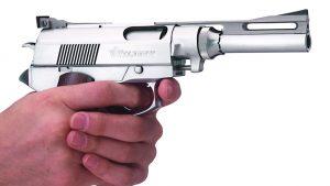 Wildey Survivor pistol pistol grip