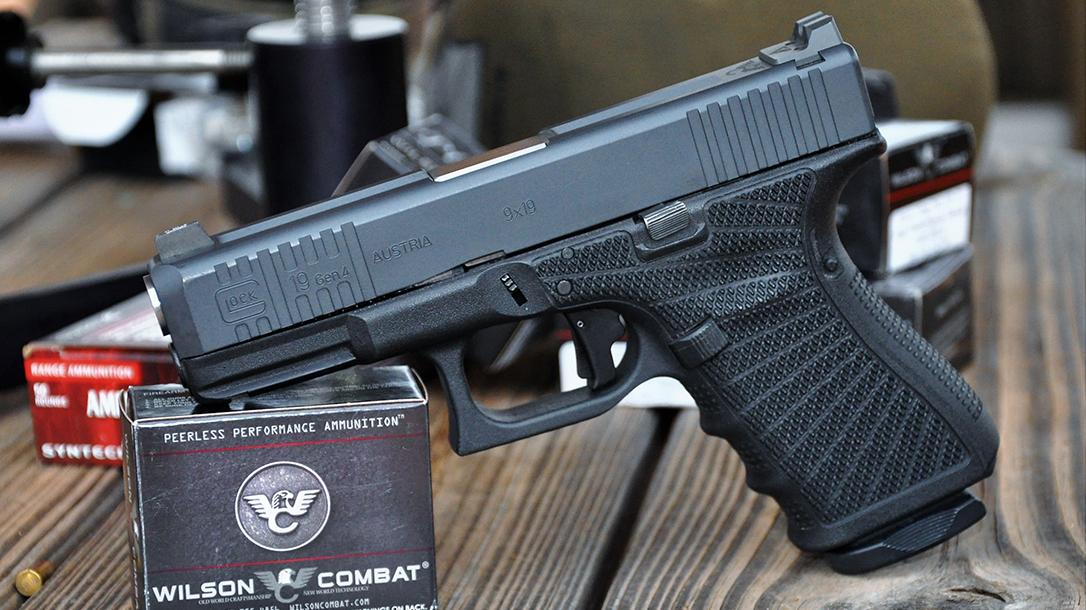 Wilson Combat Glock 19 Gen4 pistol ammo