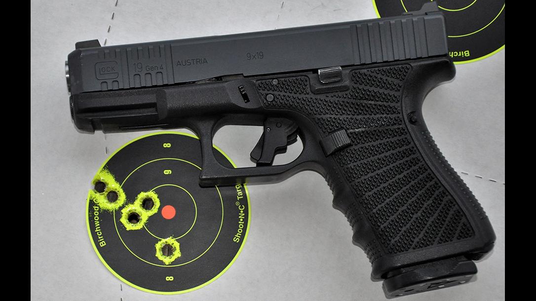 Wilson Combat Glock 19 Gen4 pistol target