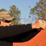 Wilson Combat Glock 19 Gen4 pistol shooting