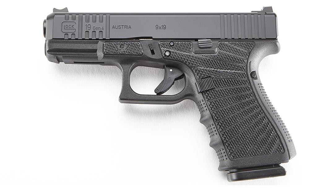 Wilson Combat Glock 19 Gen4 pistol left profile