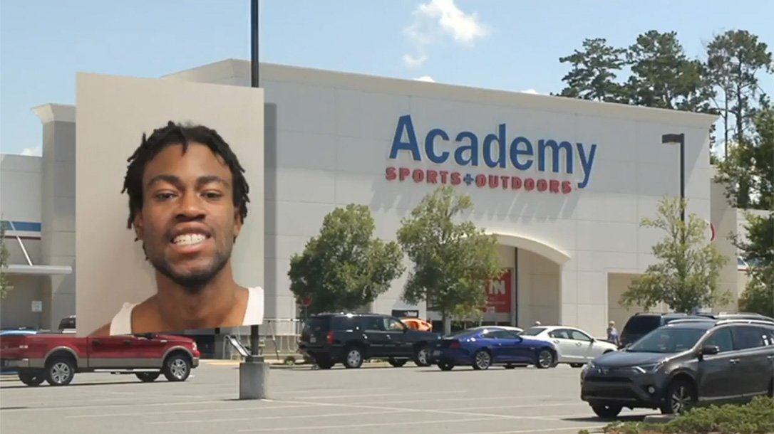academy sports manager gun thief