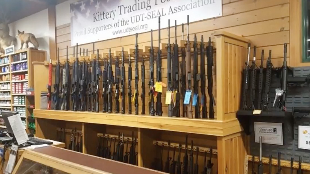 FBI Report Crime, kittery trading post rifles