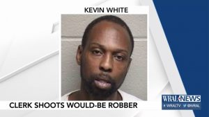 north carolina store clerk robbery kevin white
