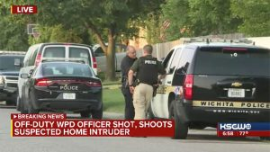 wichita police home invasion shooting