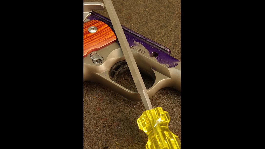1911 trigger squaring file brownells