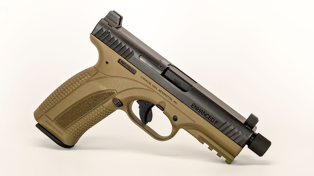 full size handguns, Caracal Enhanced F (Suppressor Ready)