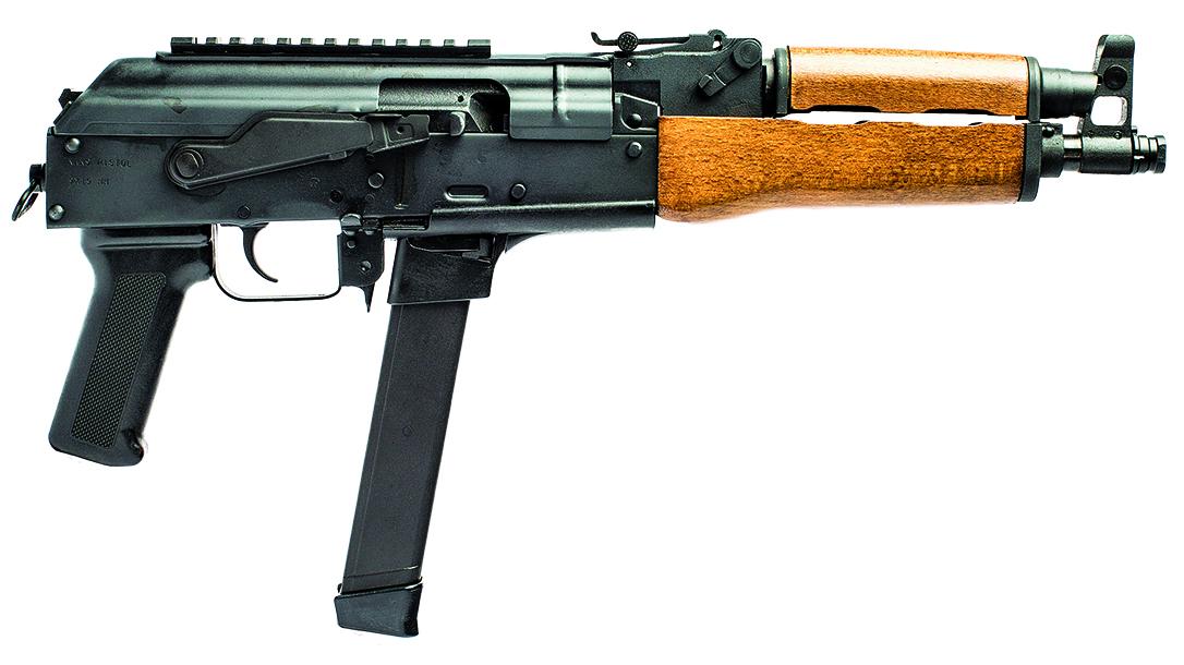 full size handguns, Century Arms Draco NAK9