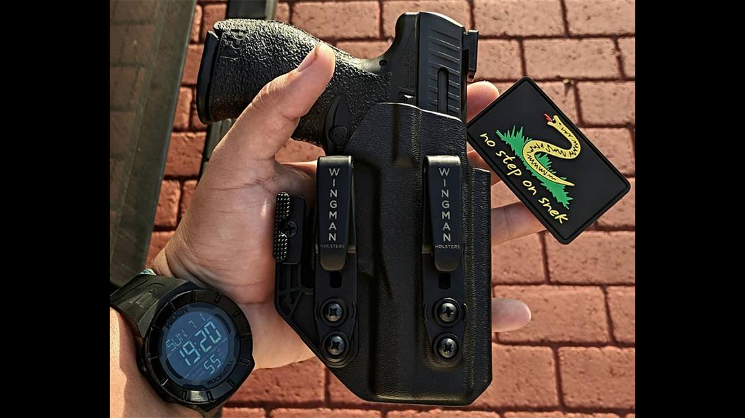 florida college lacrosse coach gun holster
