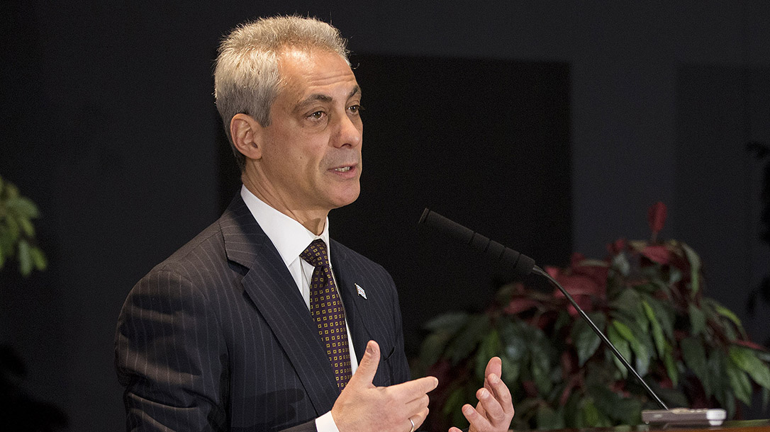Chicago Mayor Rahm Emanuel Pushes Gun Control