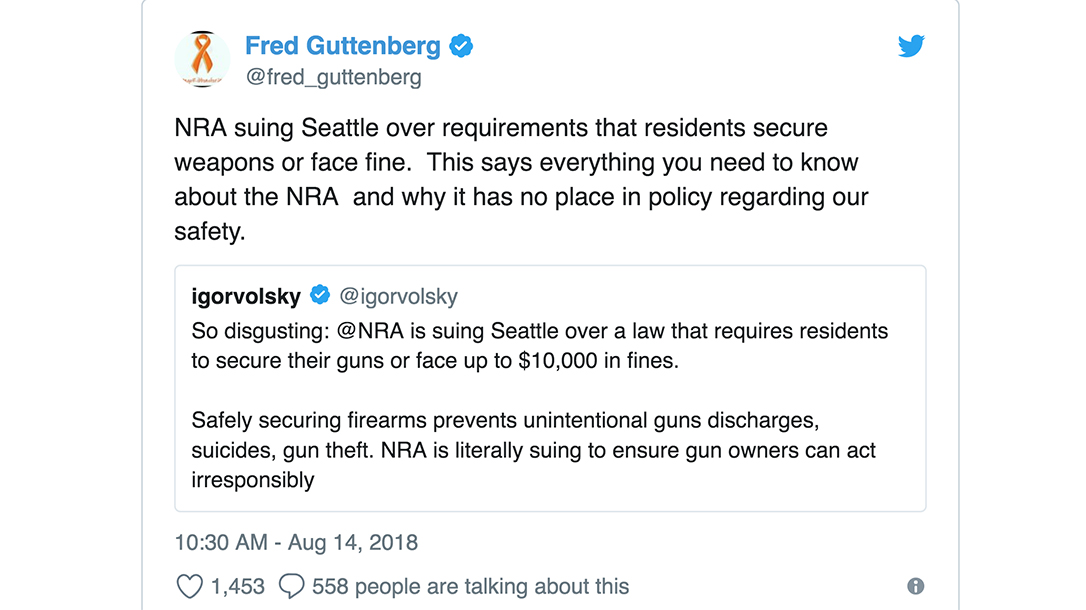 Steve Kerr, Golden State, NRA, Gun Laws, Retweet