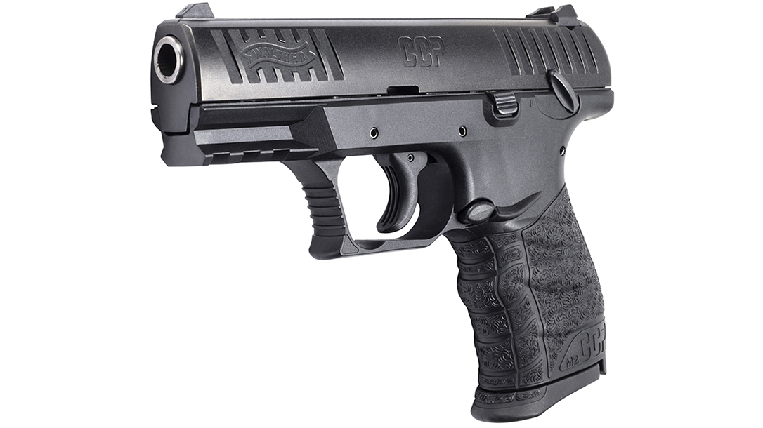 Walther CCP M2 pistol left angle
