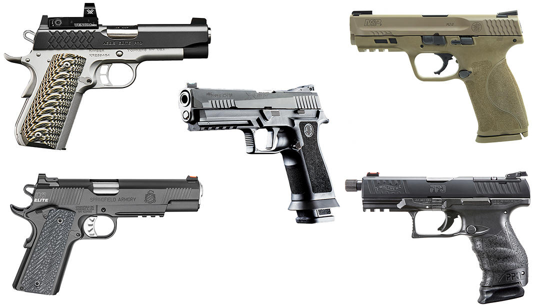 Here Are 25 of the Best Full Size Handguns Introduced in 2018