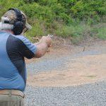 Colt Cobra Revolver, Range Test, Gun Slickguns Review, target