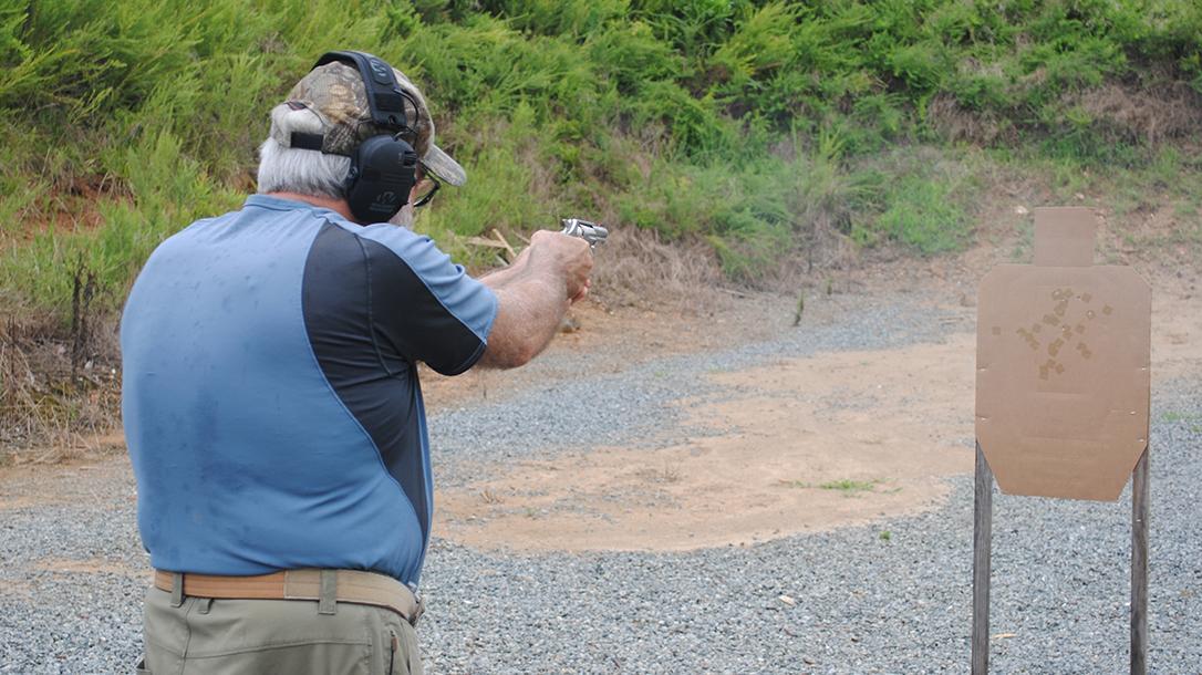 Colt Cobra Revolver, Range Test, Gun Review, target