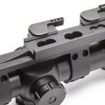 LaRue Click Adjust Nut QD SPR Mount on scope