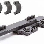 LaRue Click Adjust Nut QD SPR Mount with rings