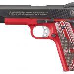 ruger, ruger sr1911, ruger nra sr1911, ruger sr1911 nra pistol left profile