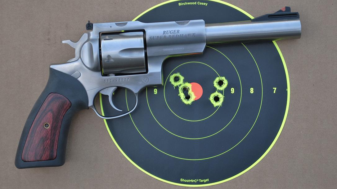 Ruger Super Redhawk 10mm, revolver