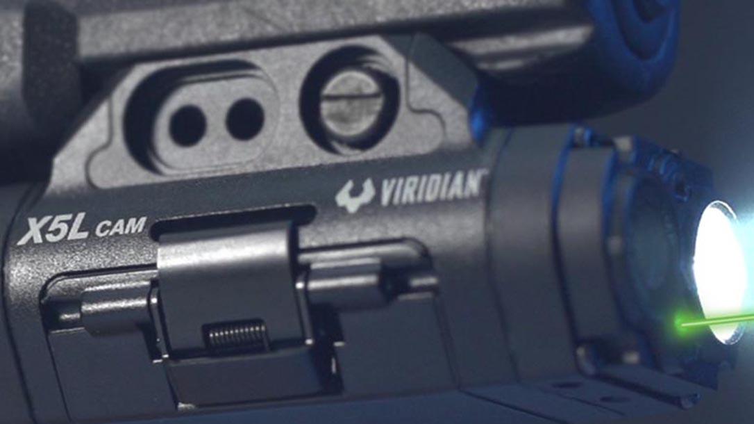 Viridian X Series Gen 3, gun camera, light, laser, side