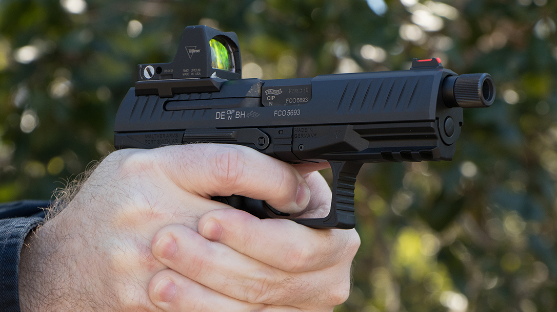 The Walther PPQ Q4 TAC Pistol and Trijicon's RMR Are a