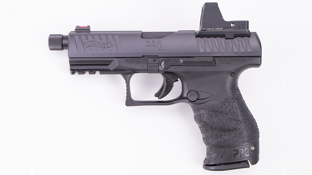 Walther PPQ Q4 TAC Pistol left profile