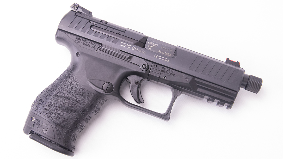 Walther PPQ Q4 TAC Pistol right profile