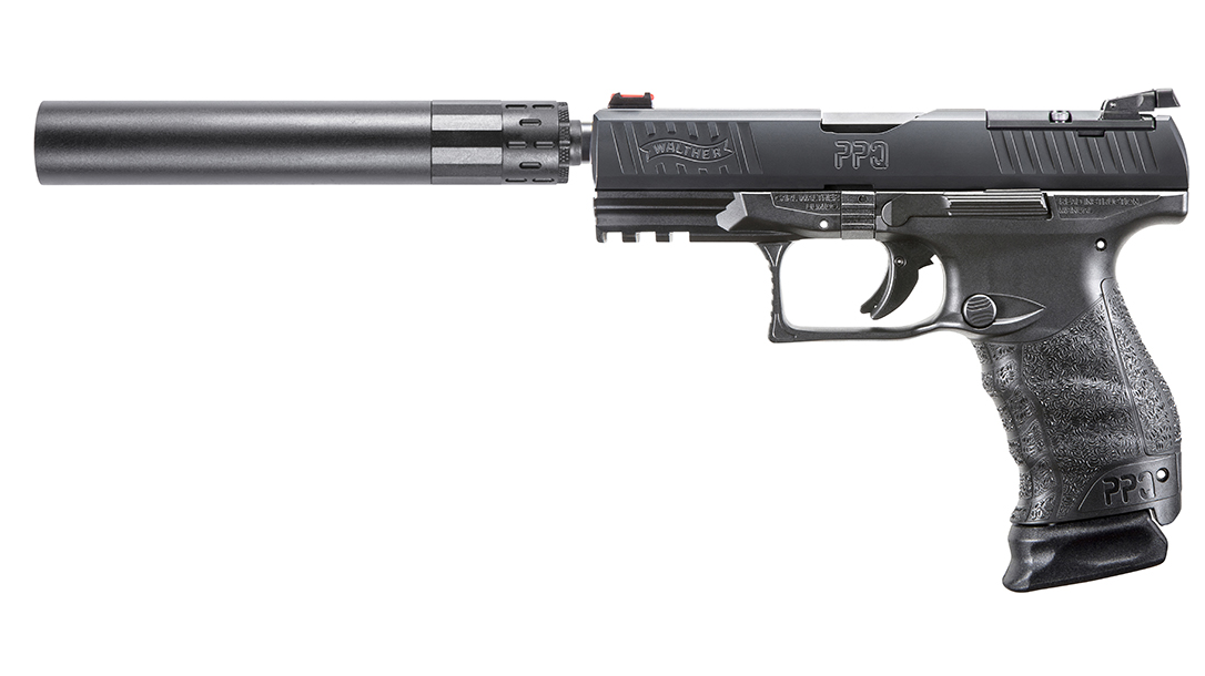 Walther PPQ Q4 TAC Pistol suppressor