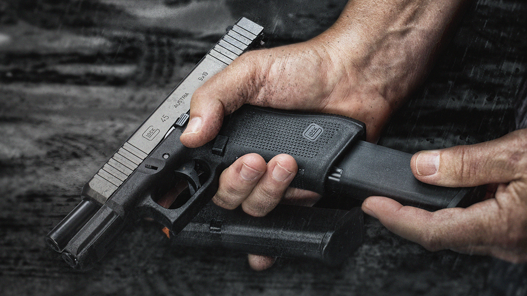 First Look The Glock 45 Pistol Arrives With Front Slide Serrations