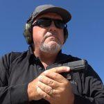 Glock 45 pistol, G45 pistol first Slickguns Review, author